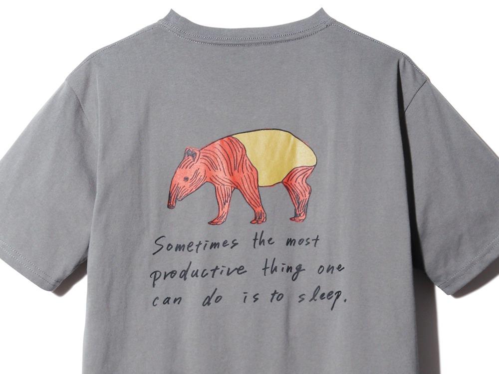 Kids Printed Tshirt Bacoo 2 Greykhaki