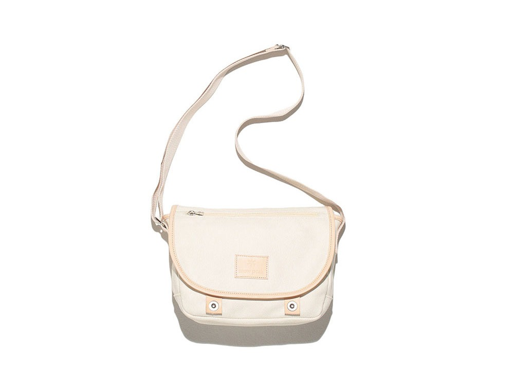 Canvas Shoulder Bag White0