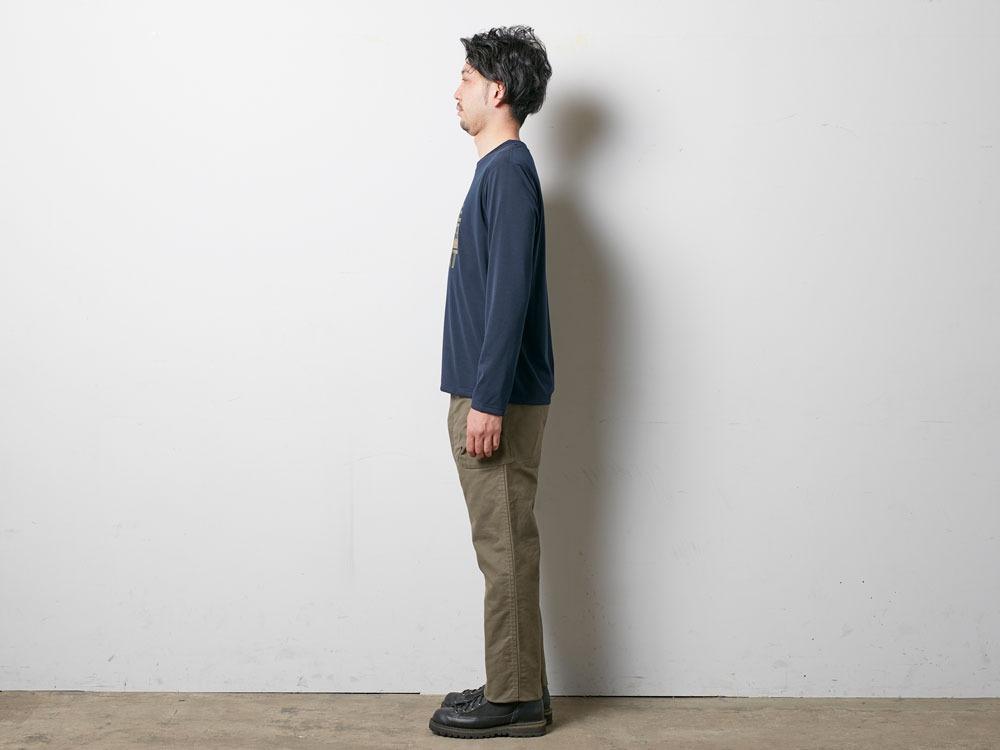 Rain CAMO Long Tshirt XL Melange Grey2