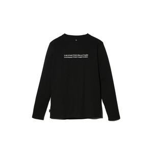 Typography ロングスリーブ Tシャツ