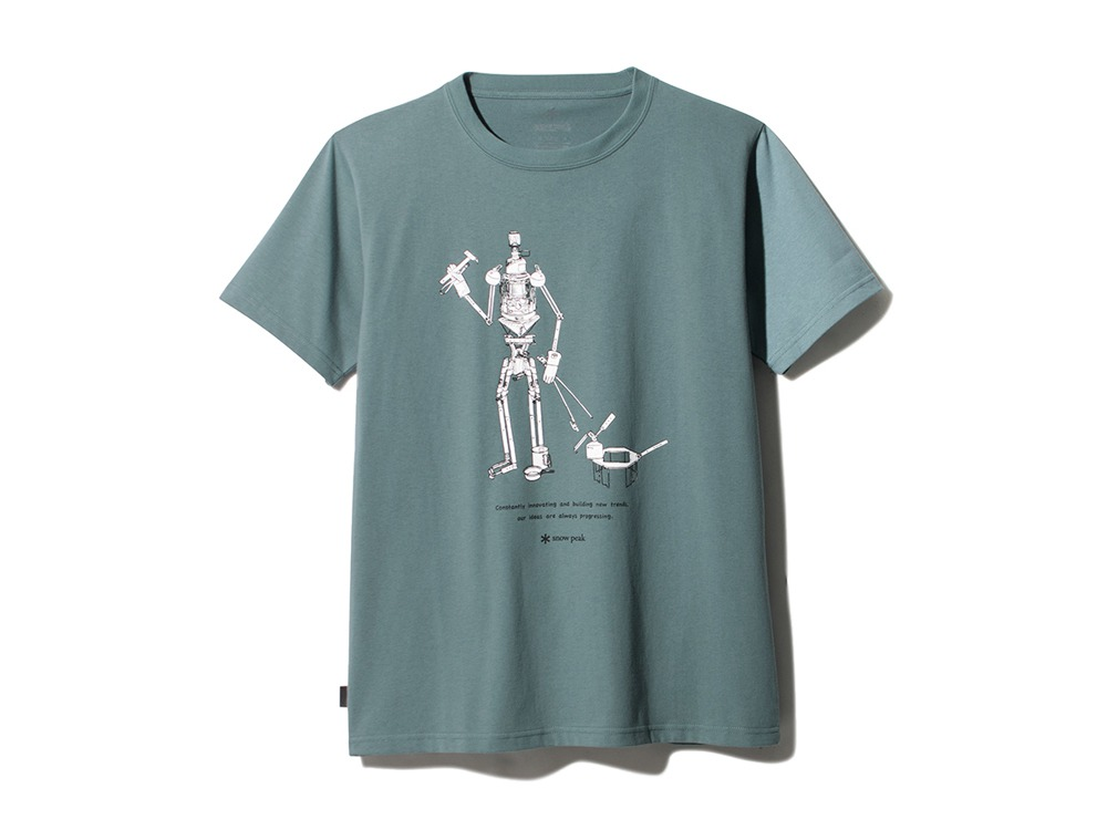 The Camping Machine Tee XL Light Blue