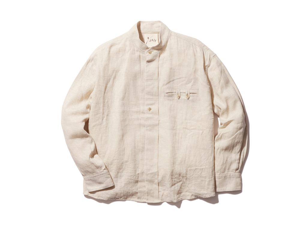 C/L Birdseye Shirt 1 Ecru