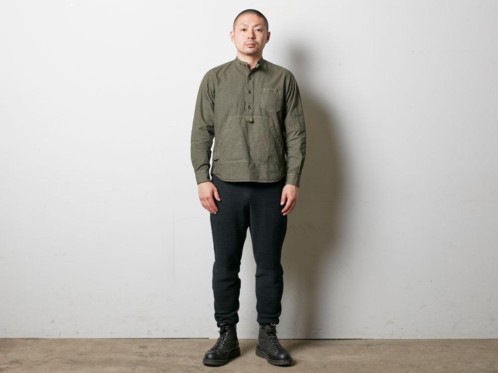 Organic Rip Stop Shirt S Ecru2