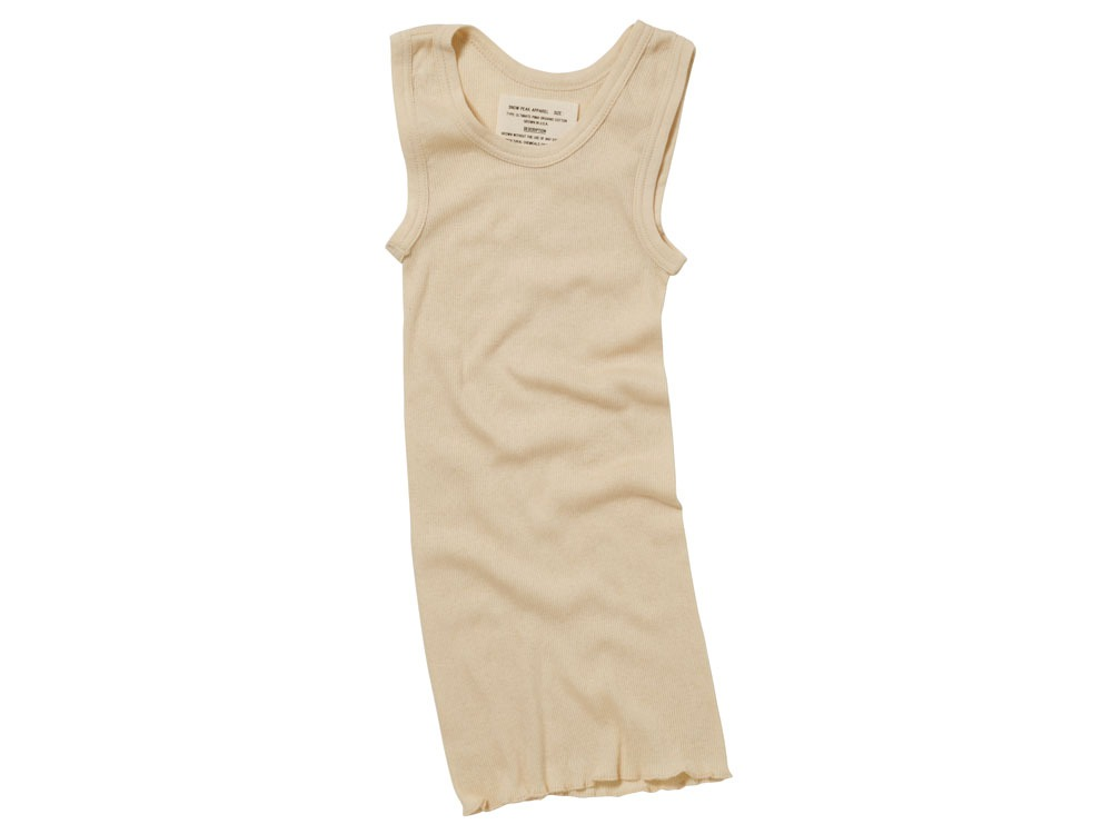 W's UltimatePima Rib Tanktop 1 Natural
