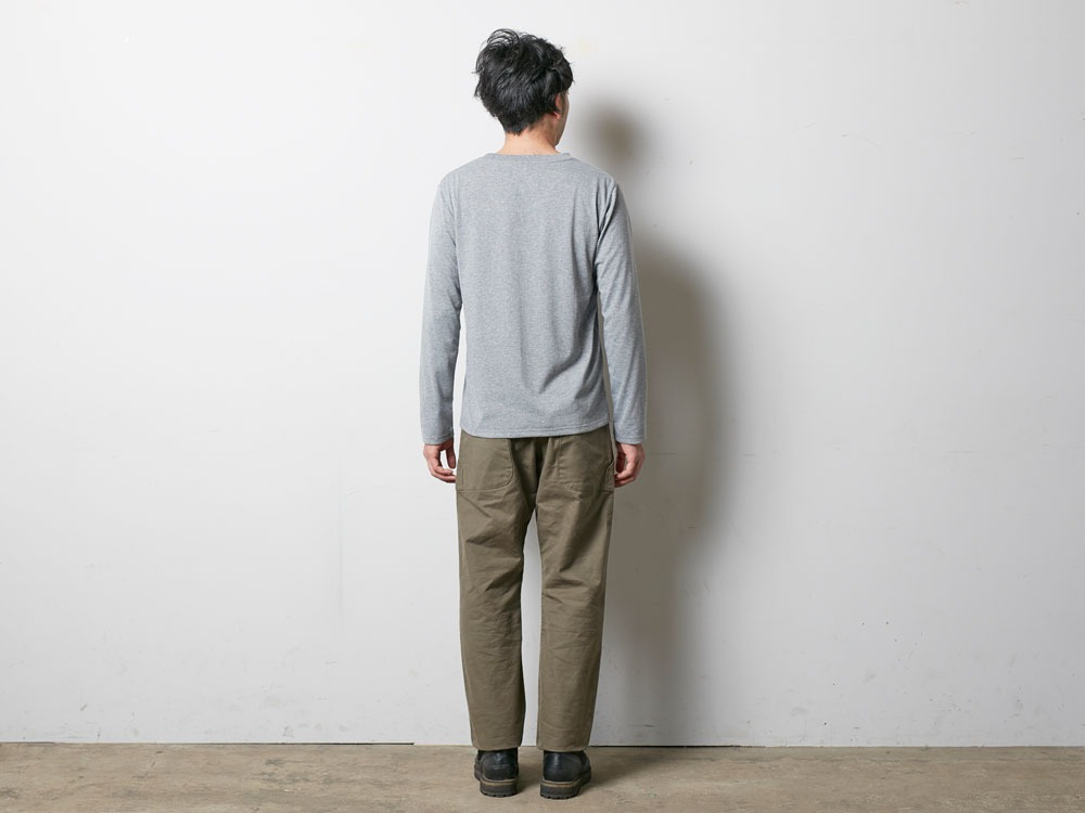 SP Gear Long Tshirt M Melange Grey3