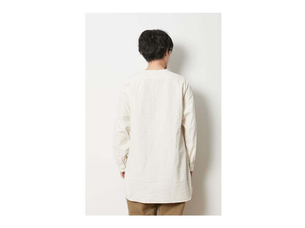 ナシジ スリーピングシャツ M Brown