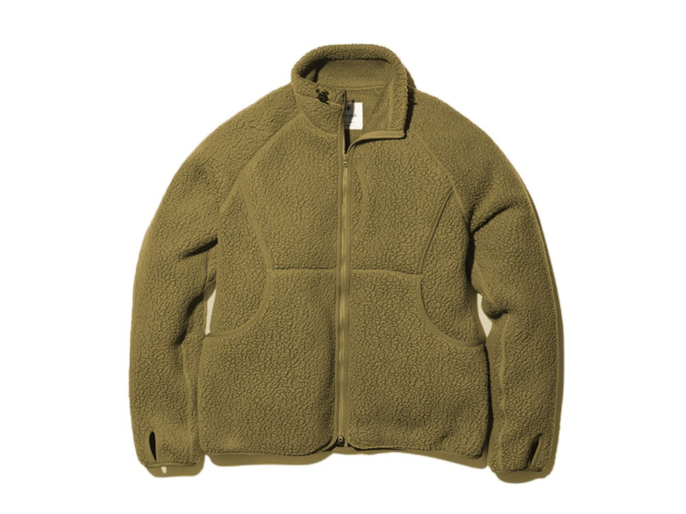 Thermal Boa Fleece Jacket 1 Olive