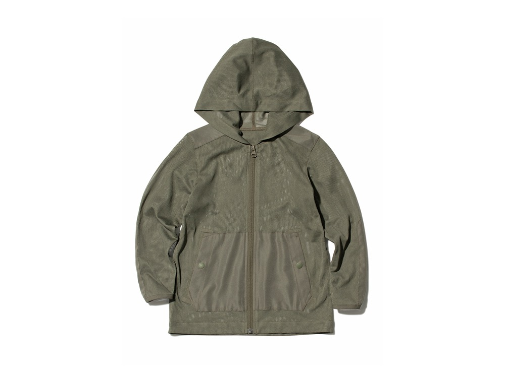 Kids Insect Shield Parka 1 Olive