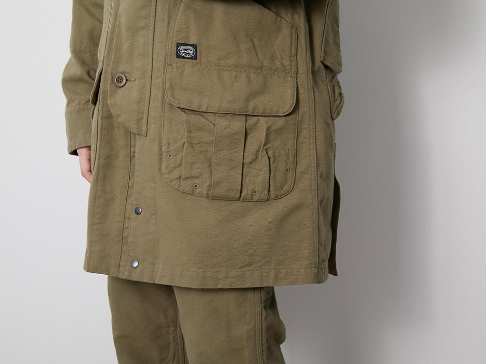 TAKIBI Duck Coat 1 Beige