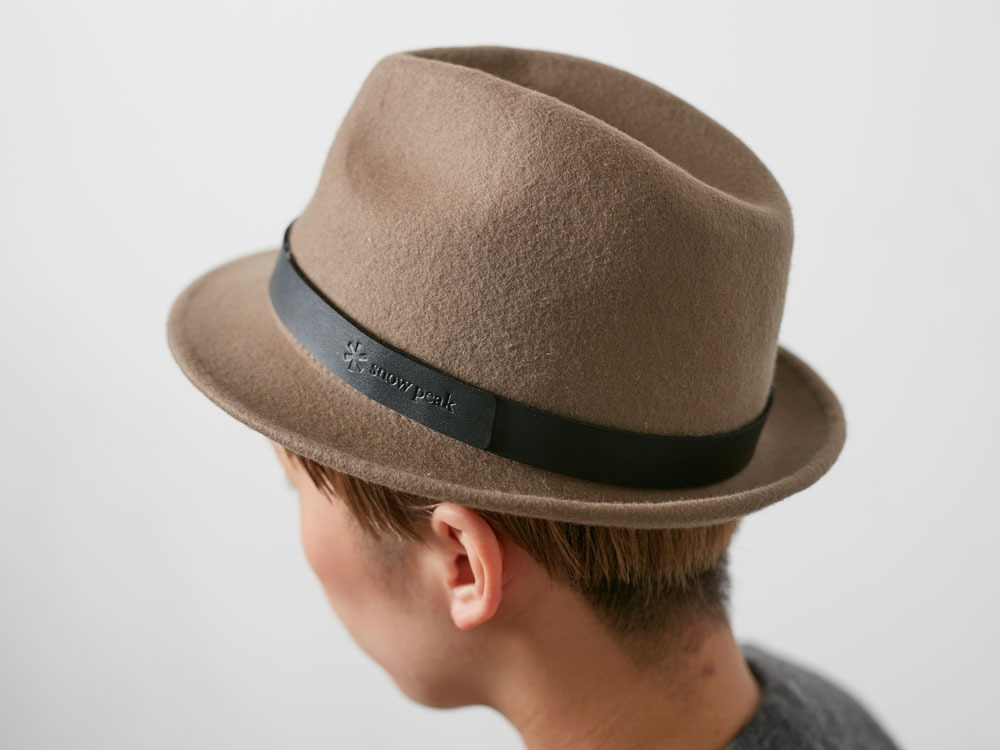 Soft Wool Hat Olive2