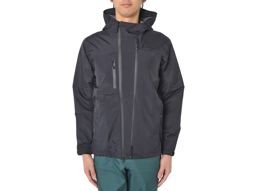 3L Rain Jacket XS/XXS Black