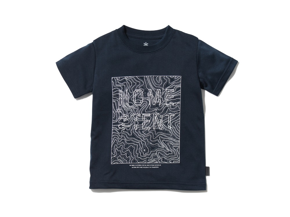 Kid'sQuickDryTshirt/Contour 4 Navy0