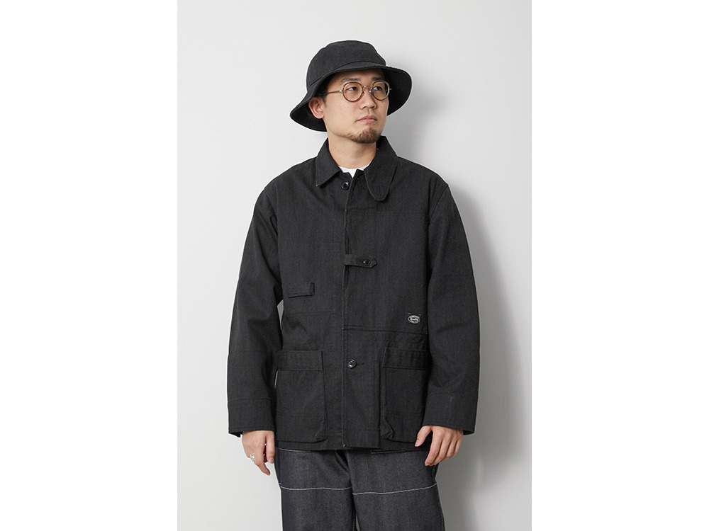 TAKIBI Denim Jacket S Black