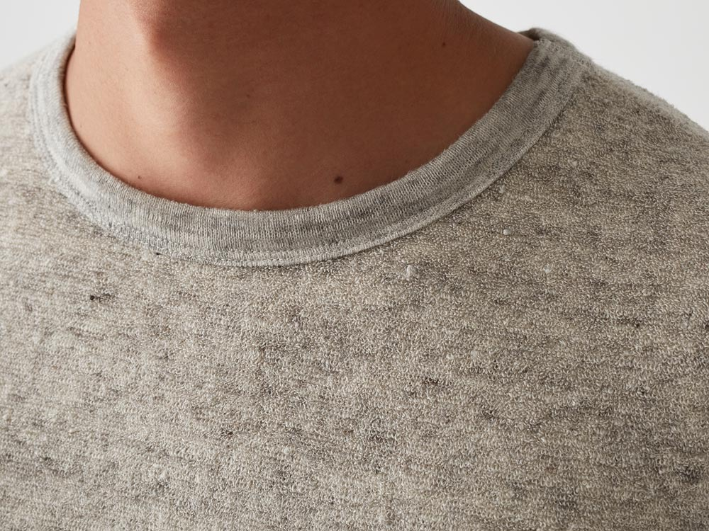 Linen Pile Tshirt 1 Charcoal4