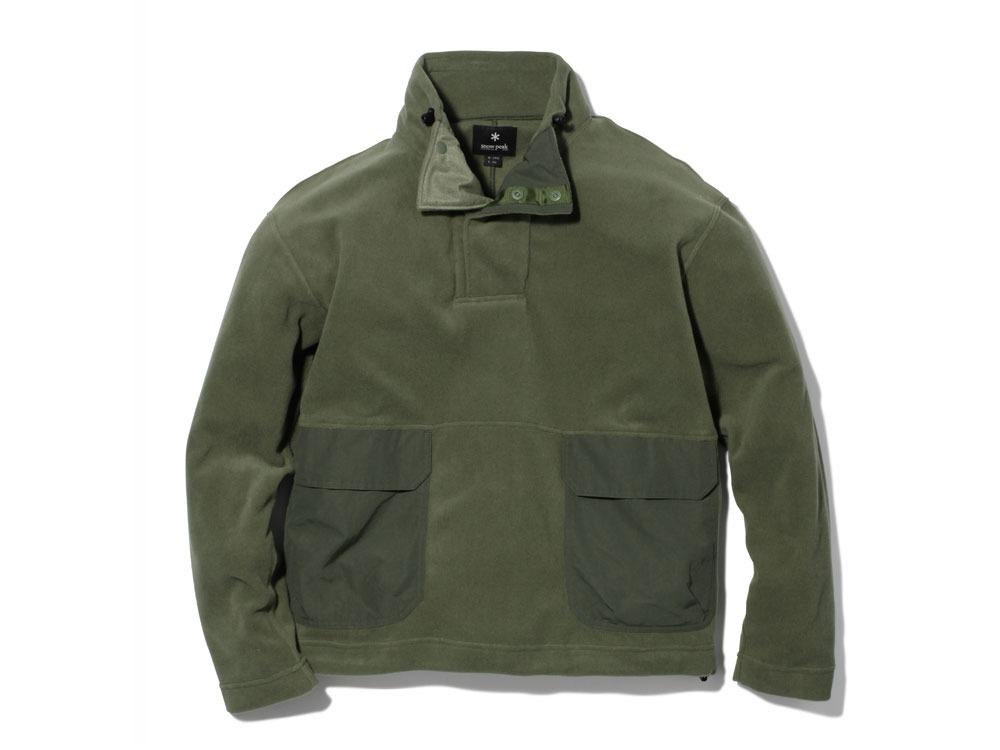R/Pe Fleece Pullover XL Olive0
