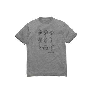 グリーンリーフプリントティーシャツ