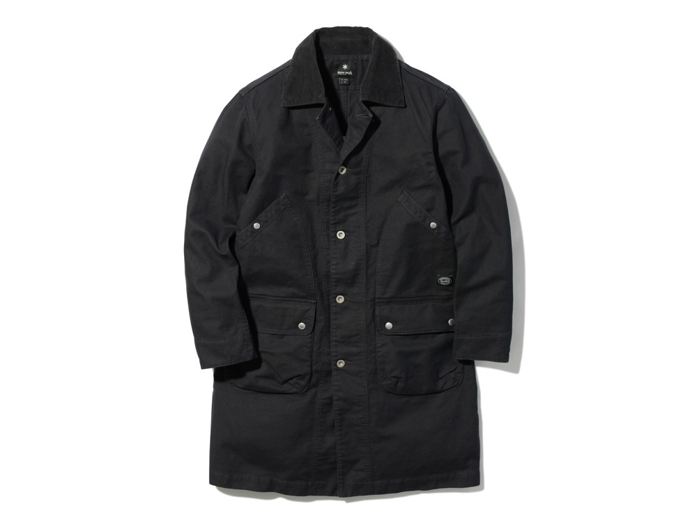 TAKIBI Shop Coat 2 Black0
