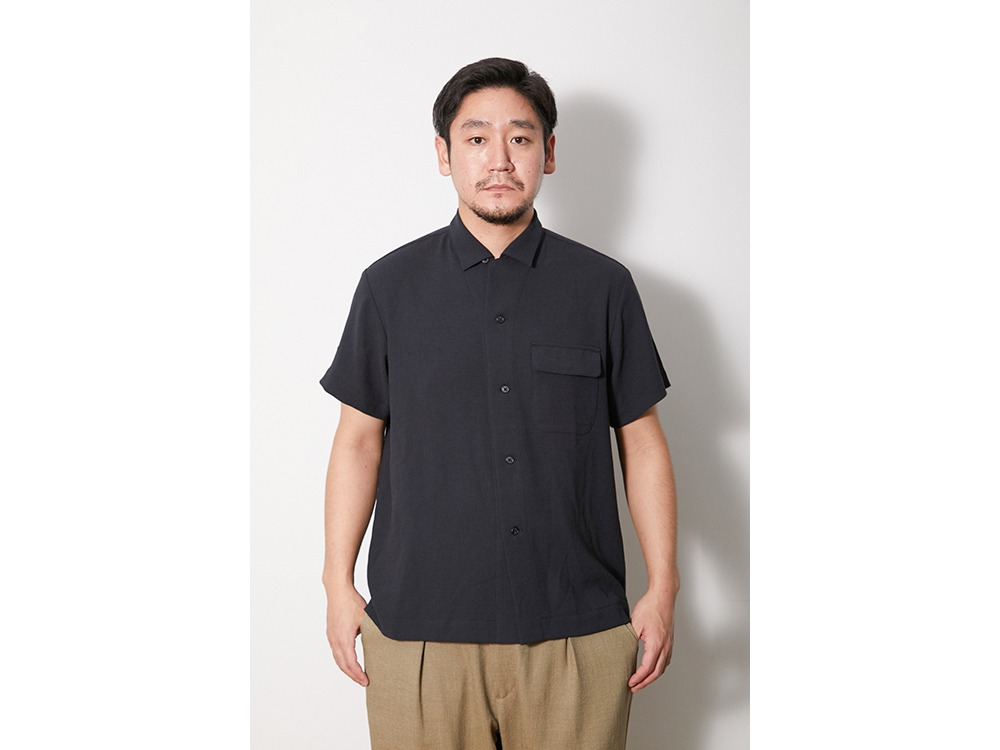 QuickDry Crepe Weave Soft Shirt S SG