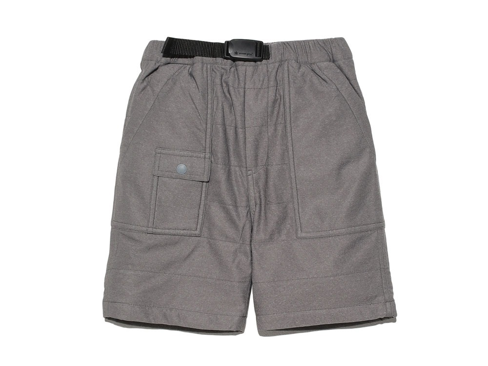 Kids Flexible Insulated Shorts 3 Grey0