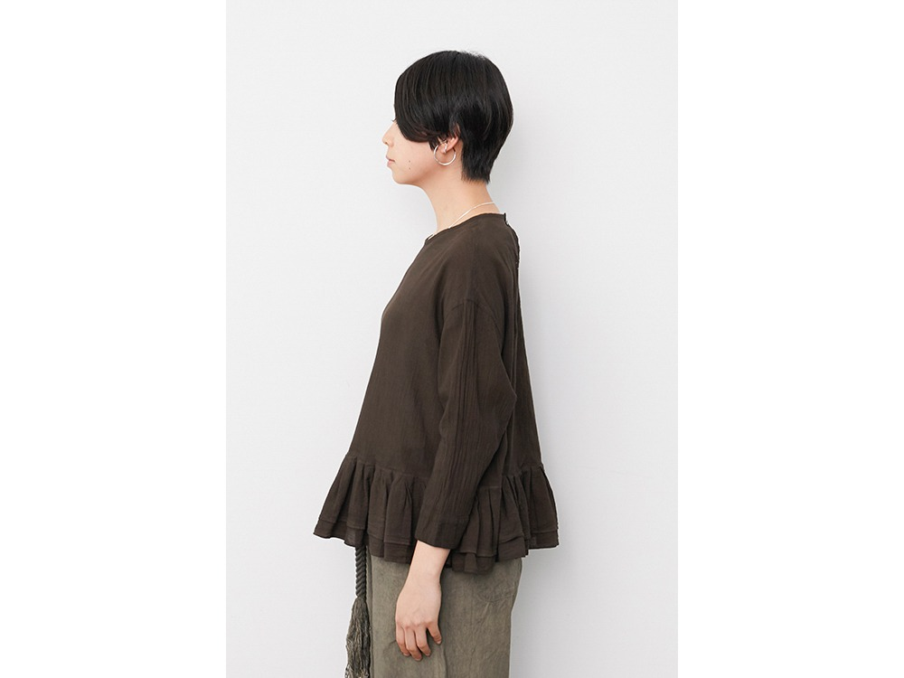 OG Cotton Pleated Pullover 2 DORO