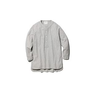 ナシジ スリーピングシャツ ギンガムチェック