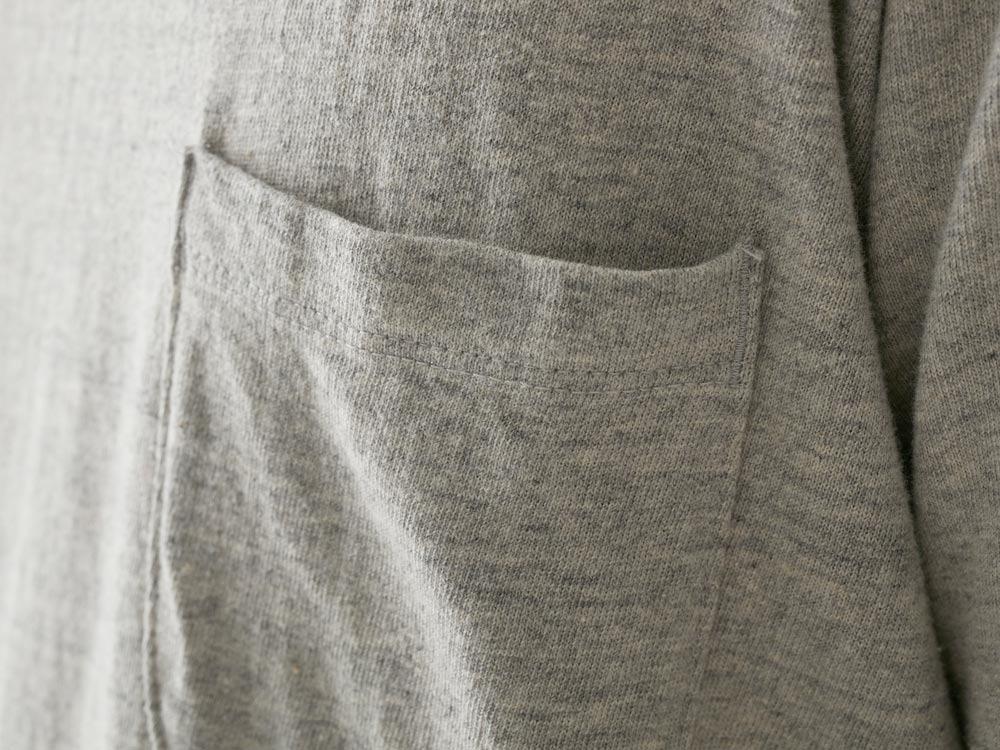オーガニックティーシャツ M M.グレー