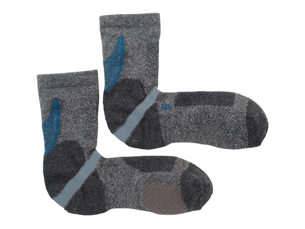 Rasox Plus Hiking Socks  (S) GRY0