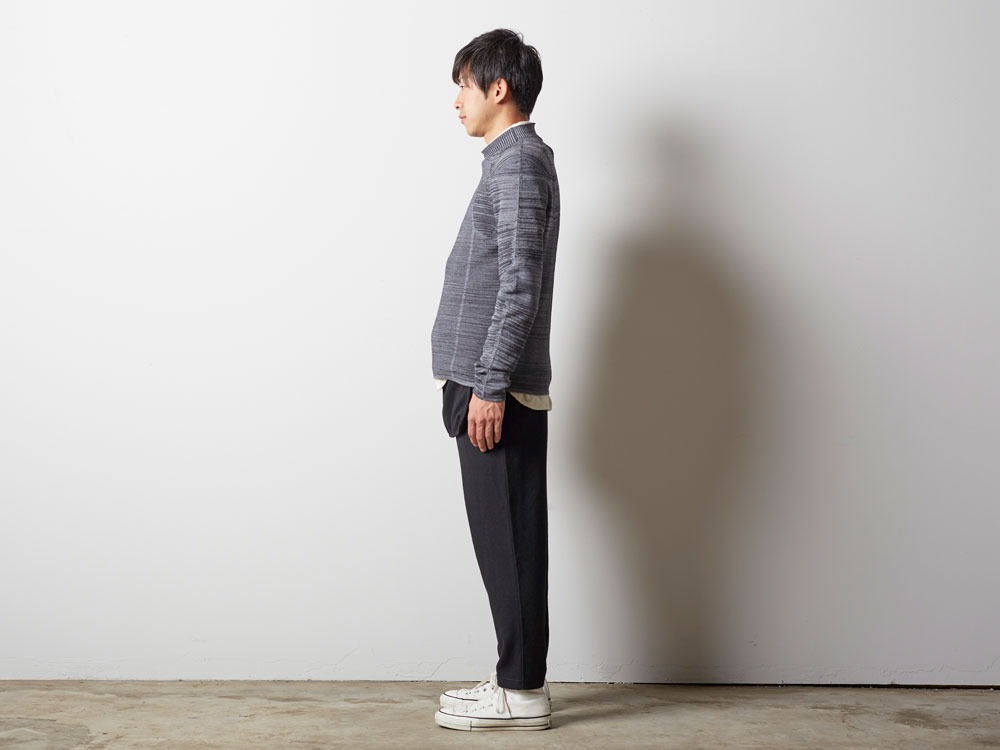 WG Stretch Knit Pullover #2 1 Grey2