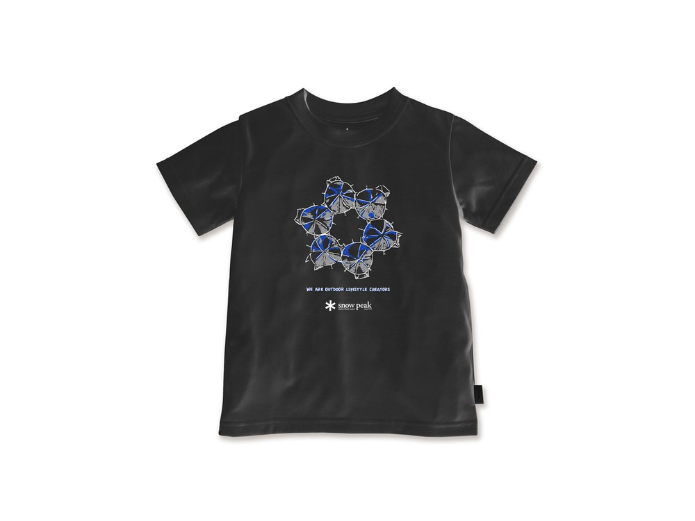 キッズ SH Join Tシャツ 1 Black