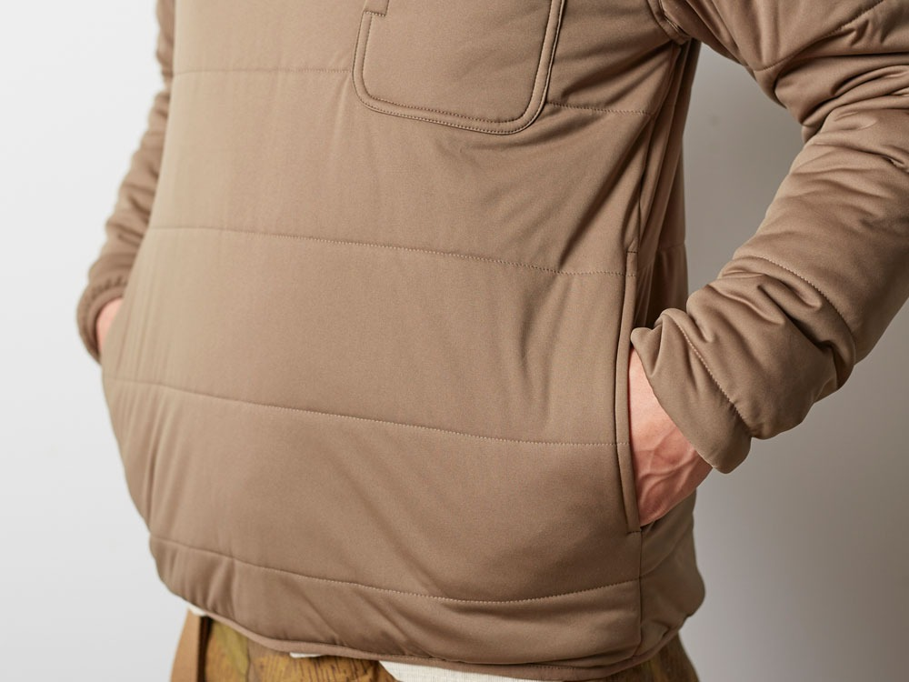 Flexible Insulated Pullover 2 Brown6