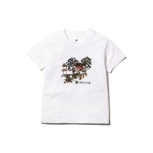 キッズキャンプフィールドティーシャツ 1 ホワイト