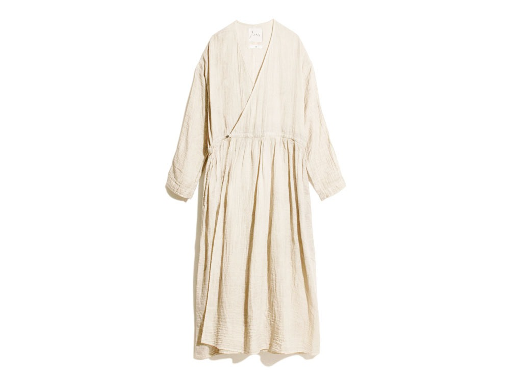 OG Double Gauze Dress 1 Ecru