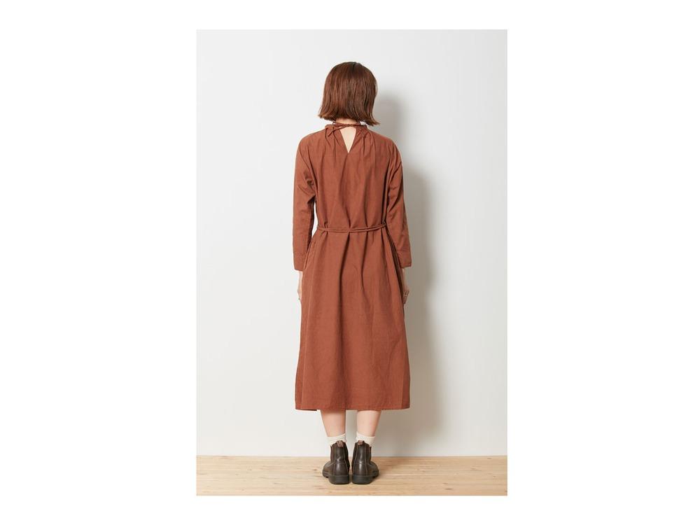 アルティメイトピマ ポプリン ドレス 3 Ecru