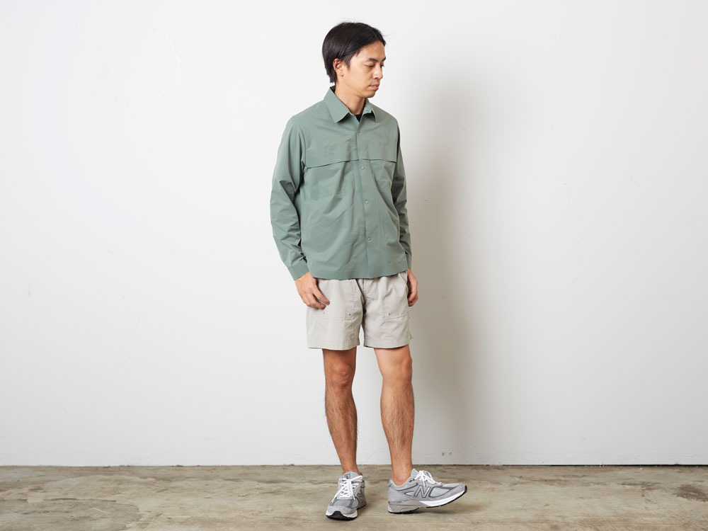 DRY&StretchShirt  S Sage1