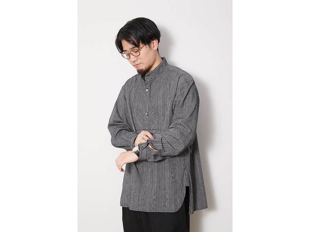 SHIJIRA Long Shirt S Blue