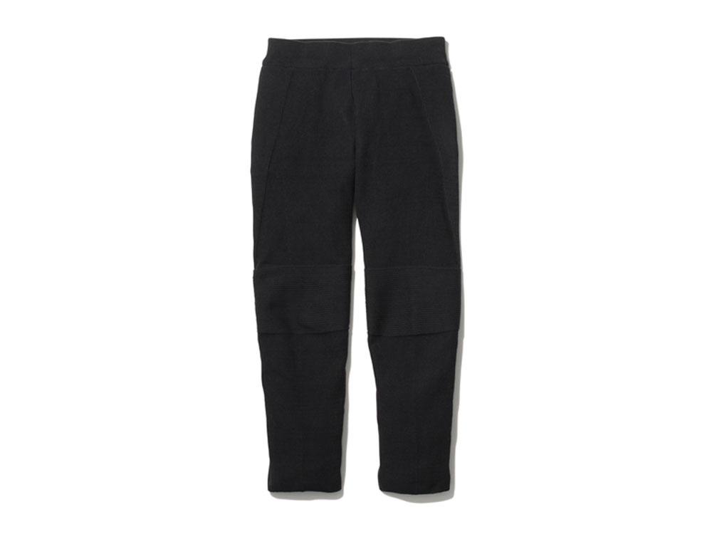 ホールガーメント ニット パンツ 1 ブラック