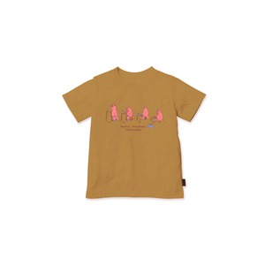 キッズ KKS Tシャツ 2 Mustard