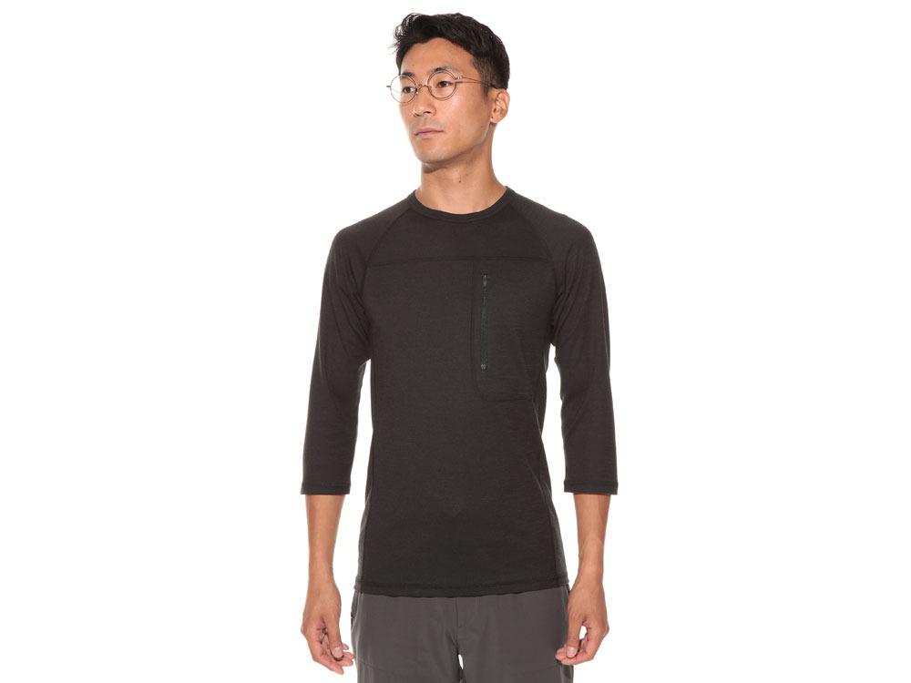 Wool Tactical Raglan Sleeve L Black2
