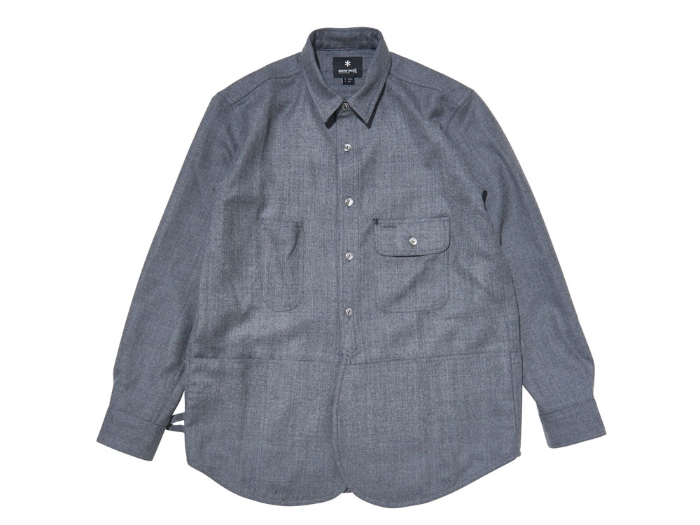 Field Wool Shirt L Grey0