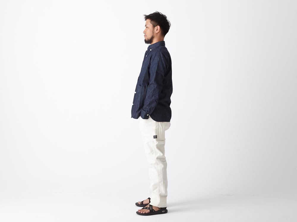 Dungaree Field Shirt  1 Indigo2