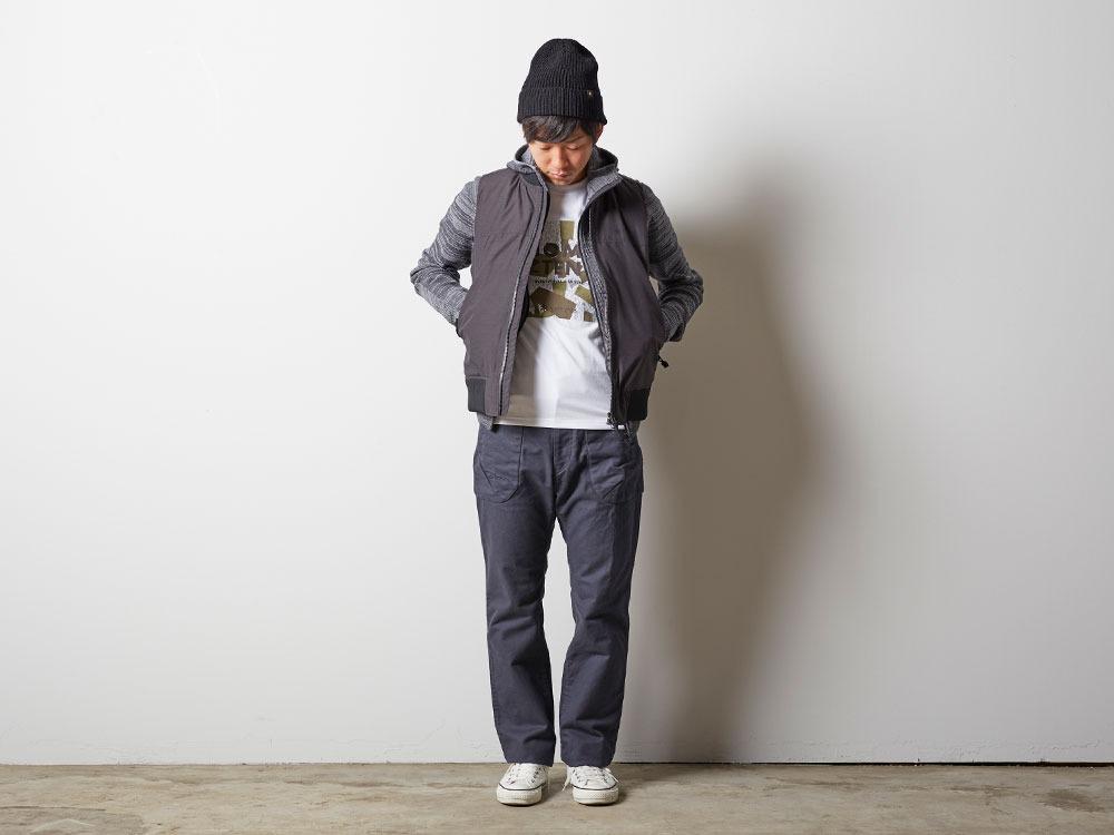 FR Down Vest XL Olive1