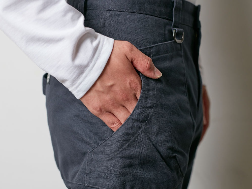 TAKIBI Pants M Black7