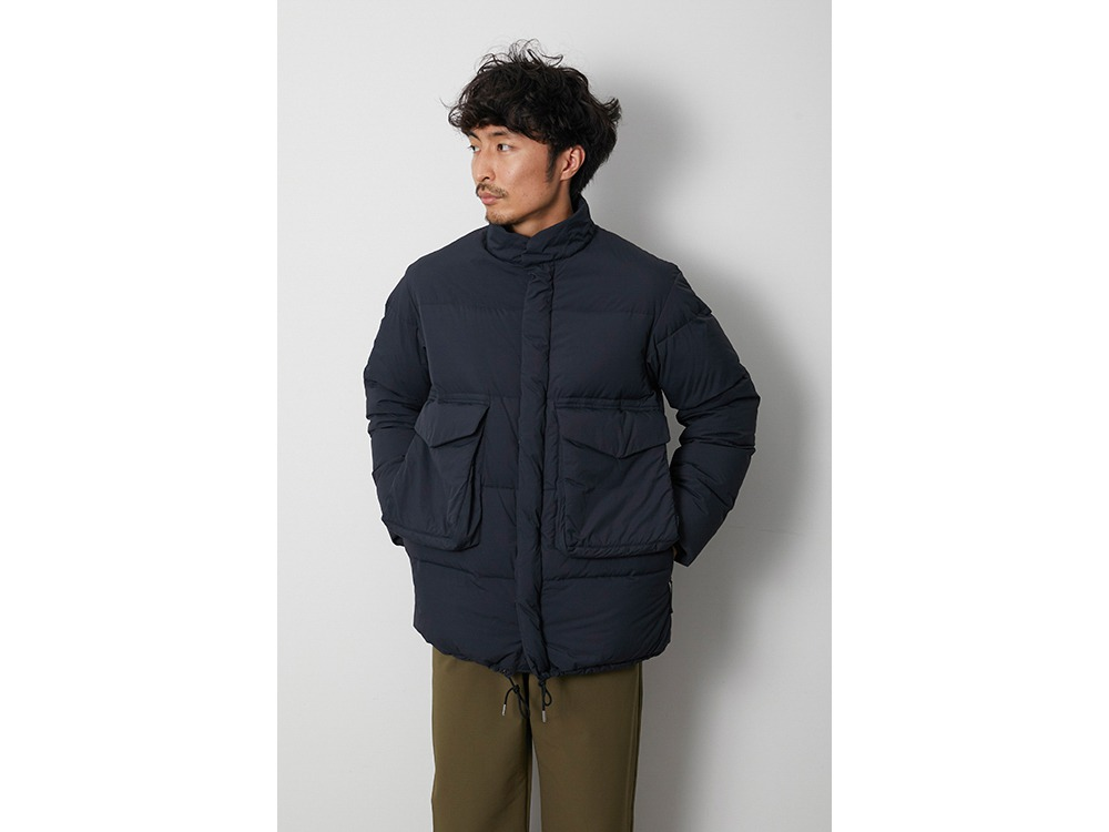 Recycled Ny Ripstop Down Jacket 1 BK