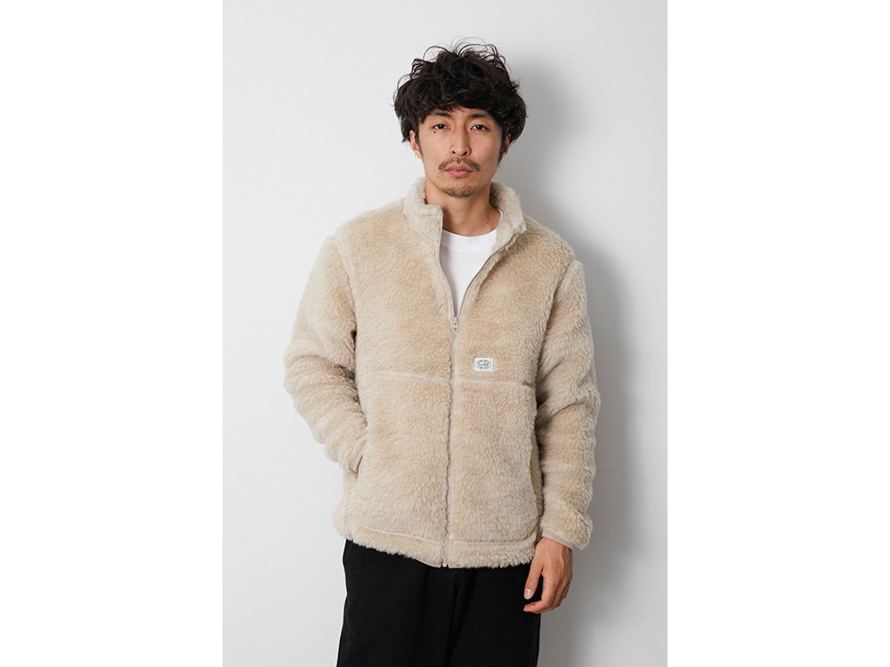 Wool Fleece Jacket S Beige