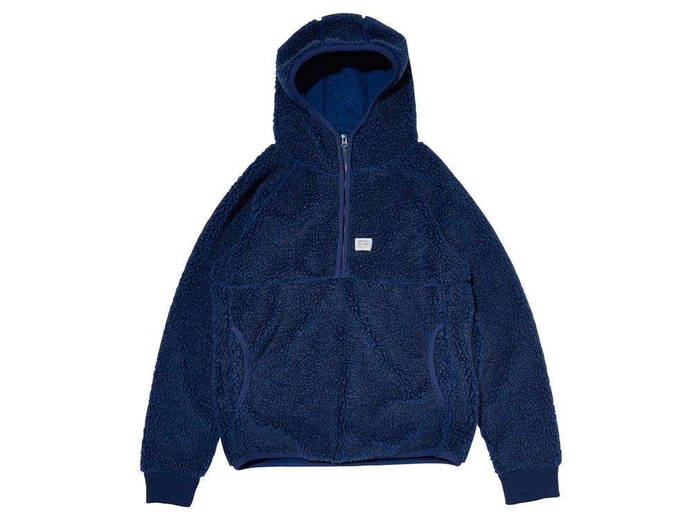 Soft Wool Fleece Pullover 2 Blue0