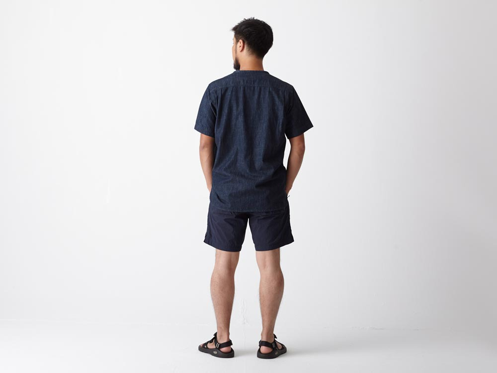 Dungaree Field S/Sleeve 2 Indigo3