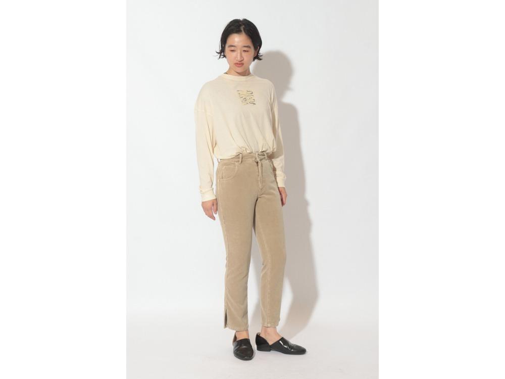 Three Pockets Corduroy Pants Slim 1 BR