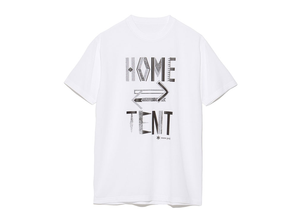 Printed Tshirt:HomeTent XL White0