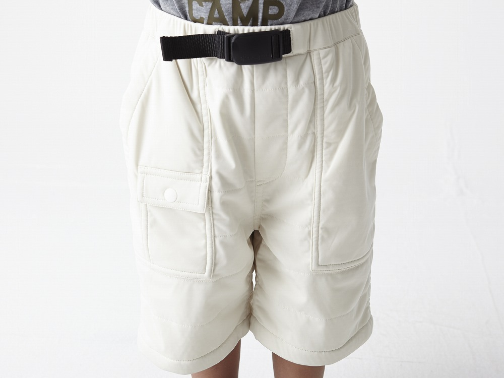 Kids Flexible Insulated Shorts 2 White4