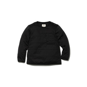 Kids Flexible Insulated Pullover 1 Black